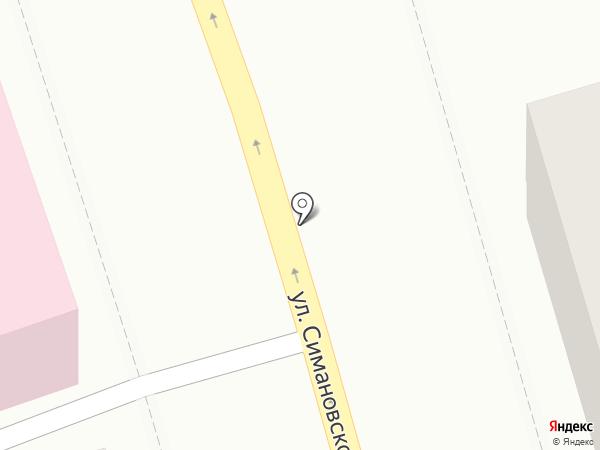 Горница на карте Костромы