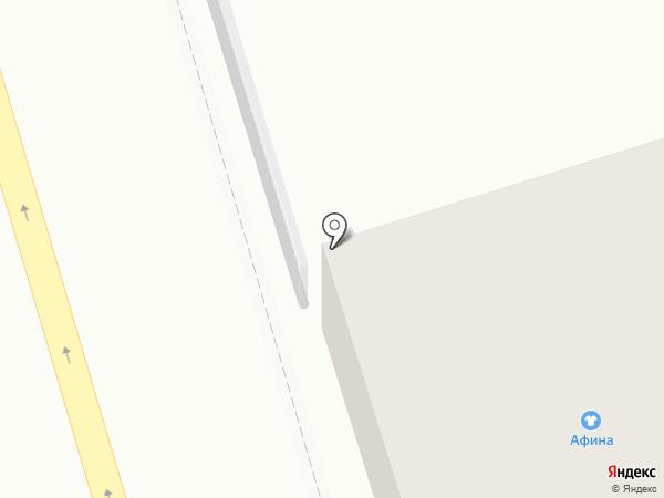 Лоскут на карте Костромы