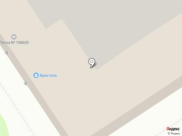 Аптека №95 на карте Костромы