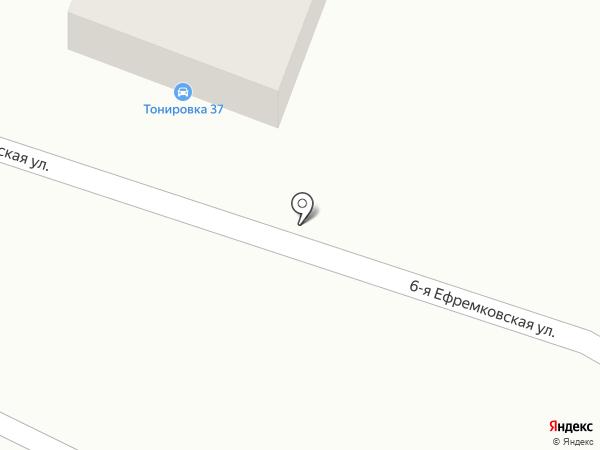Тонировка37 на карте Иваново