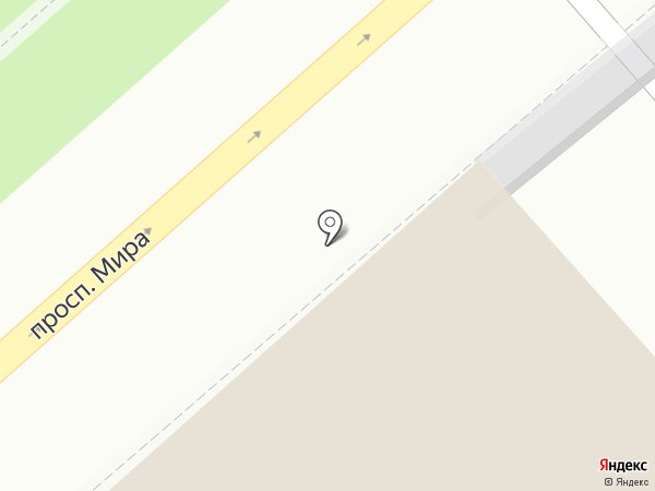 Проспект мира на карте Костромы