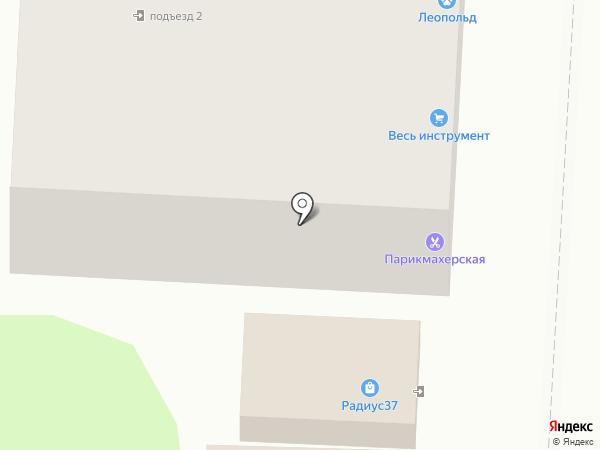 Весь инструмент на карте Иваново