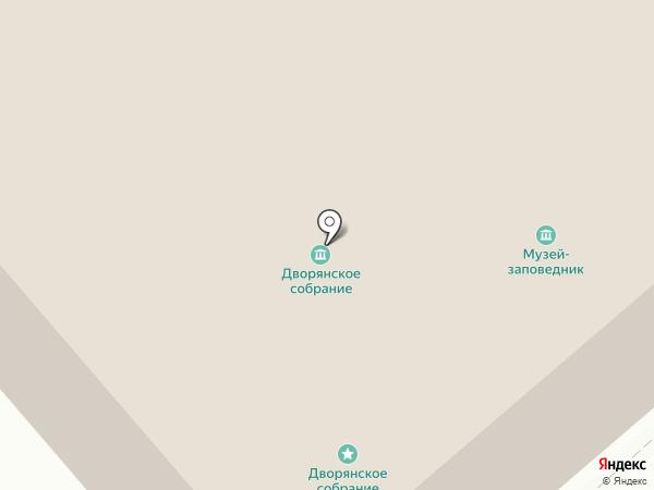 Костромской государственный историко-архитектурный и художественный музей-заповедник на карте Костромы