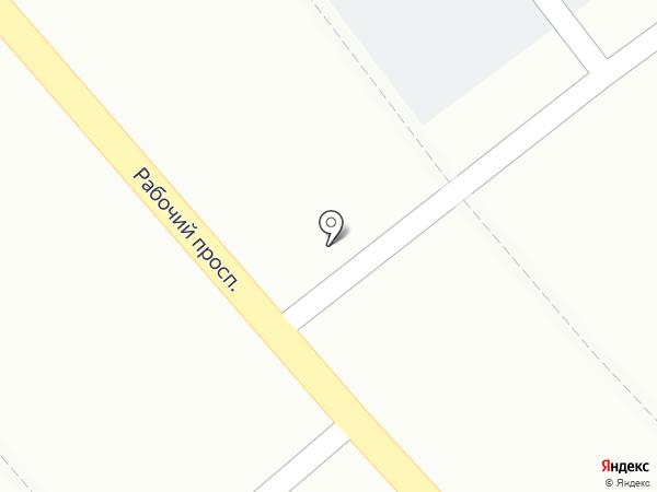 Птицефабрика Кинешемская на карте Костромы