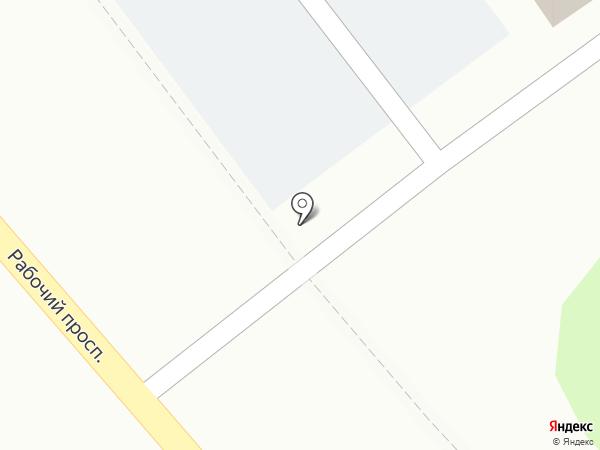 Косби-м на карте Костромы