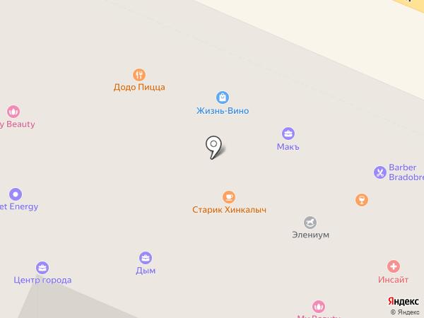 Центр автострахования на карте Костромы