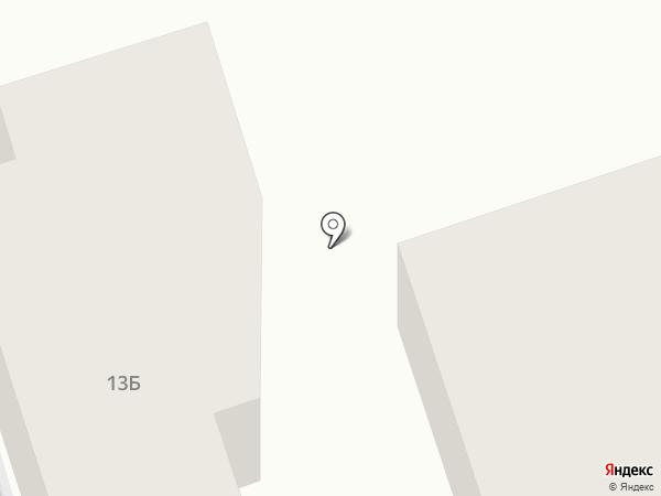 Тройка на карте Костромы