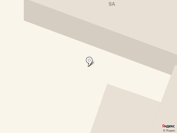 Собака на карте Костромы