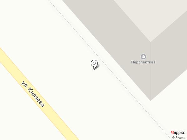 Непоседа на карте Костромы