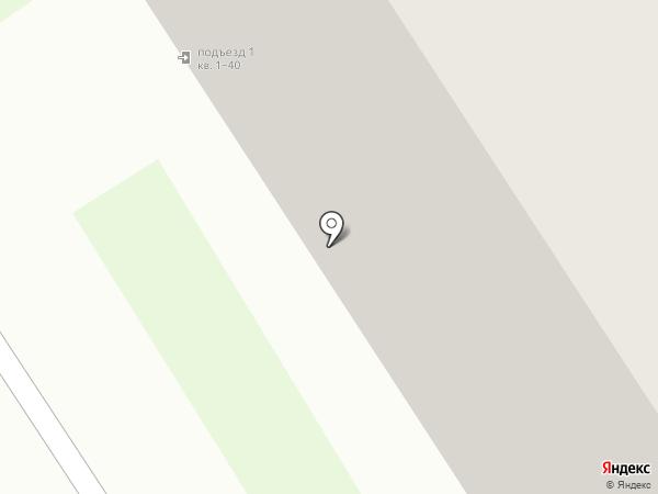 ВС на карте Костромы