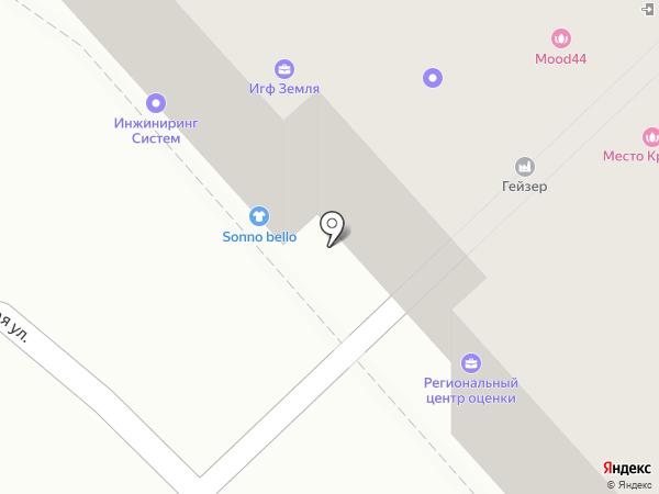 Колесо на карте Костромы