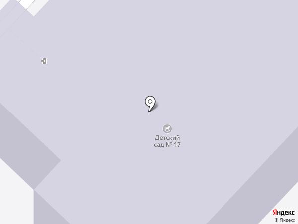 Детский сад №17 на карте Иваново