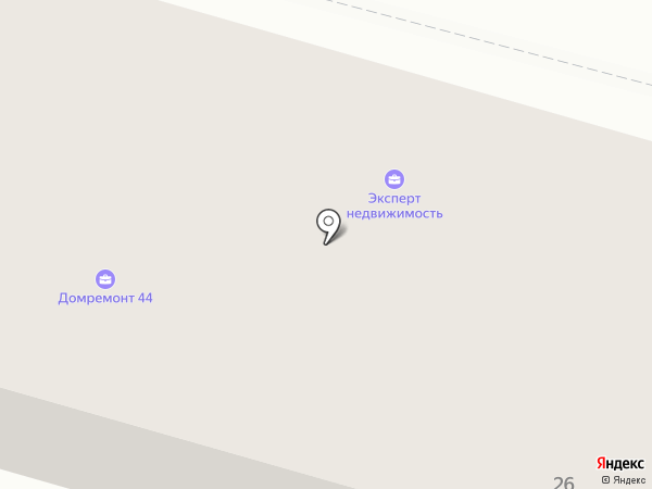 Компания услуг автовышки на карте Костромы