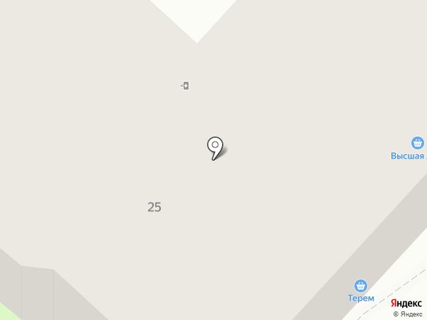 Хмельная лавка на карте Костромы