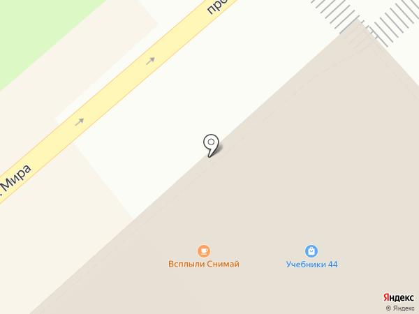 Лайт на карте Костромы