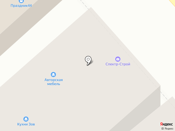 Поиск на карте Костромы