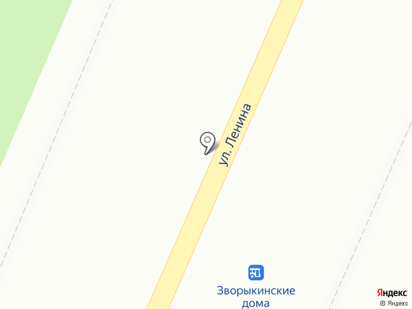 Элика на карте Костромы