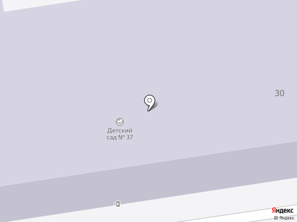 Детский сад №37 на карте Иваново