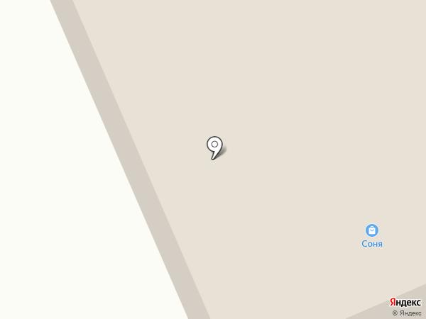 Душка-Махрушка на карте Крутово