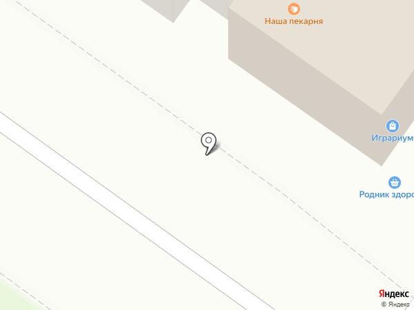 Пеликан на карте Иваново