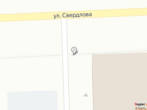 Александровский на карте Костромы