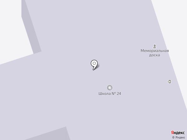 Средняя школа №24, МБОУ на карте Иваново