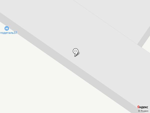 Ивановолес на карте Иваново