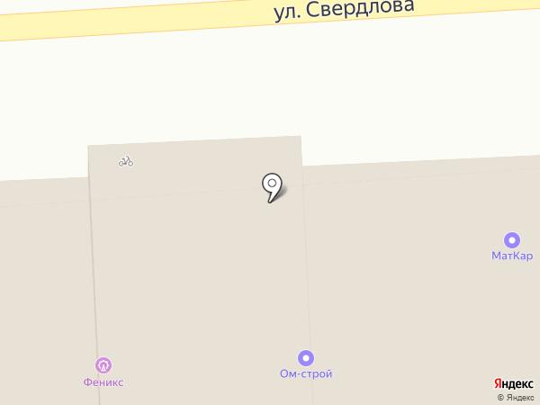 Мастерская Анны Осокиной на карте Костромы