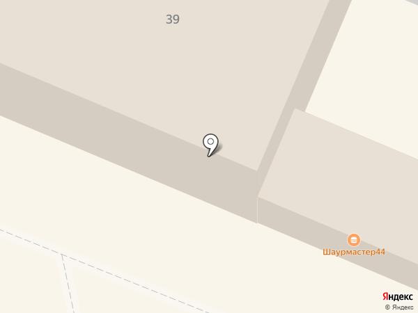 Шаурмастер на карте Костромы