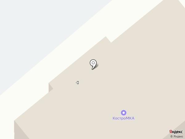 КостроМКА на карте Костромы
