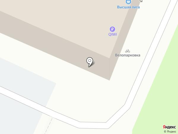 Звезда на карте Иваново