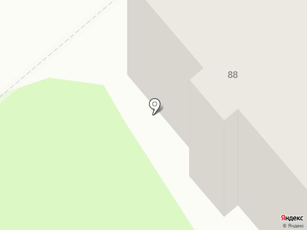Сладкий на карте Костромы
