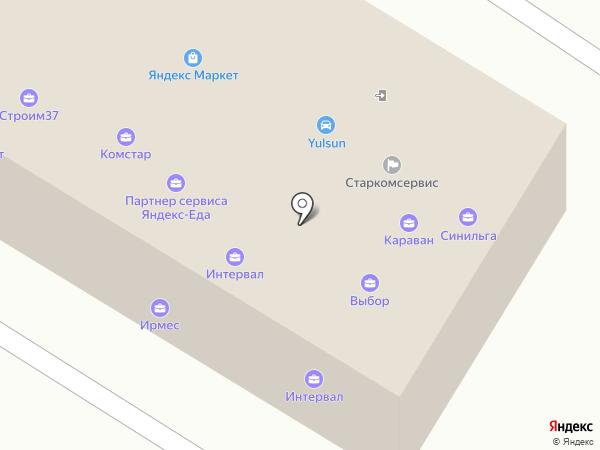 Акцент на карте Иваново