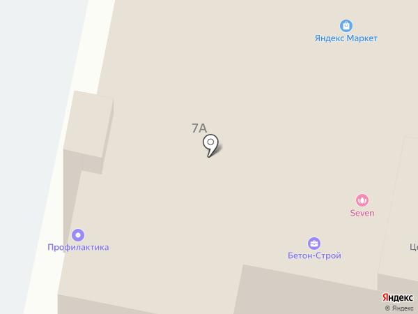 Вектор Плюс на карте Иваново