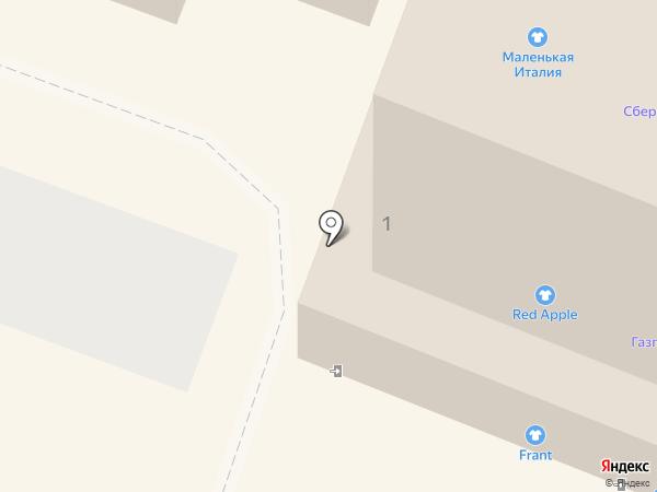 Меринос на карте Костромы