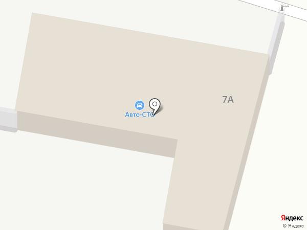 Шиномонтажная мастерская на Фабричном проезде на карте Иваново