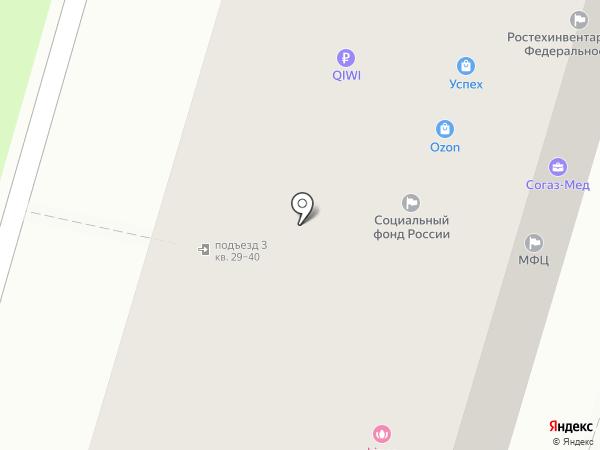 Спасские ворота-М на карте Иваново