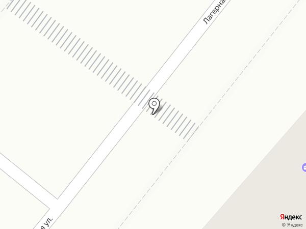 Жираф на карте Костромы
