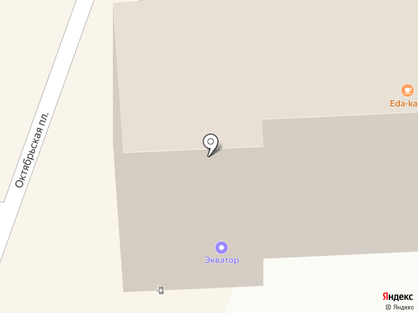 EDA-kafe на карте Костромы