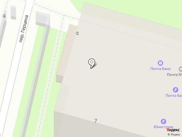 Почтовое отделение №3 на карте Иваново