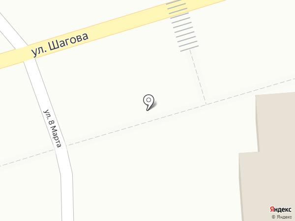 Апрель на карте Костромы