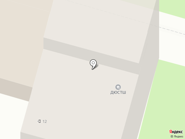 Детско-юношеский центр №1 на карте Иваново