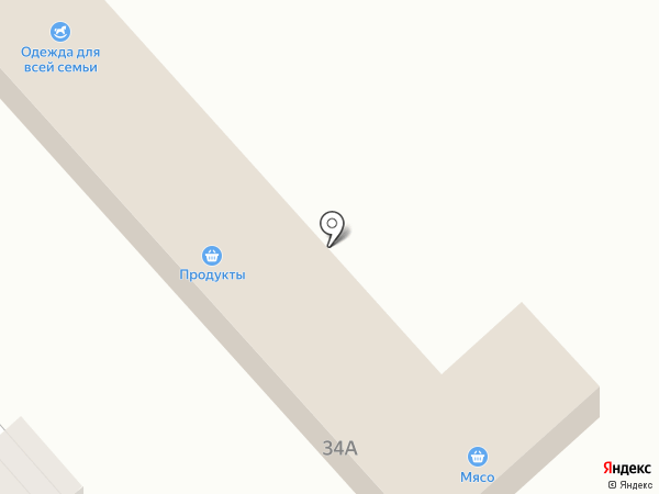 Крупинка на карте Новокубанска