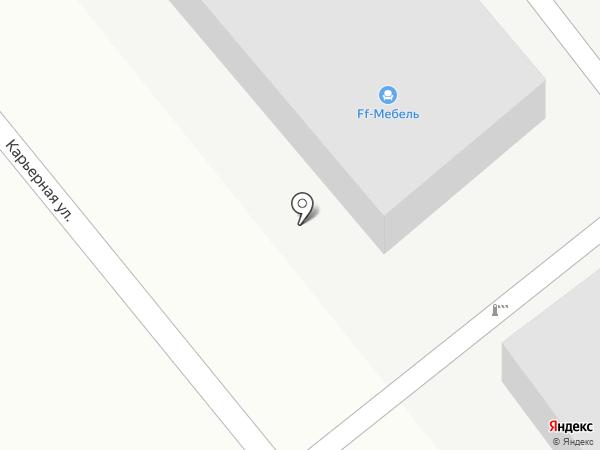 Гаражный кооператив №188 на карте Костромы