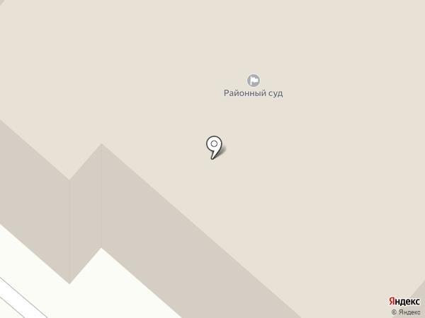 Фрунзенский районный суд г. Иваново на карте Иваново