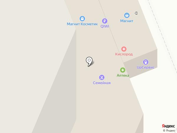 Семейная парикмахерская на карте Иваново