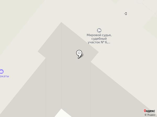 Мировые судьи Фрунзенского района на карте Иваново