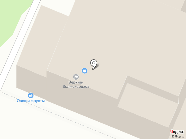 Верхне-Волжскводхоз на карте Иваново