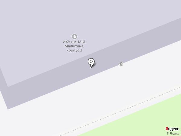 Ивановское художественное училище им. М.И. Малютина на карте Иваново