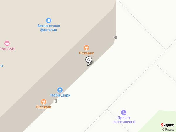 Высшая лига на карте Иваново